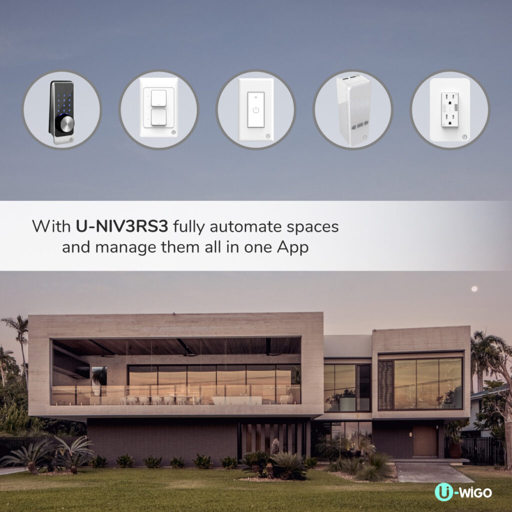 HOME AUTOMATION SYSTEM FOR SMART HOME SMART DOOR LOCK